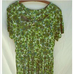 VINTAGE 1960s Nylon Dress